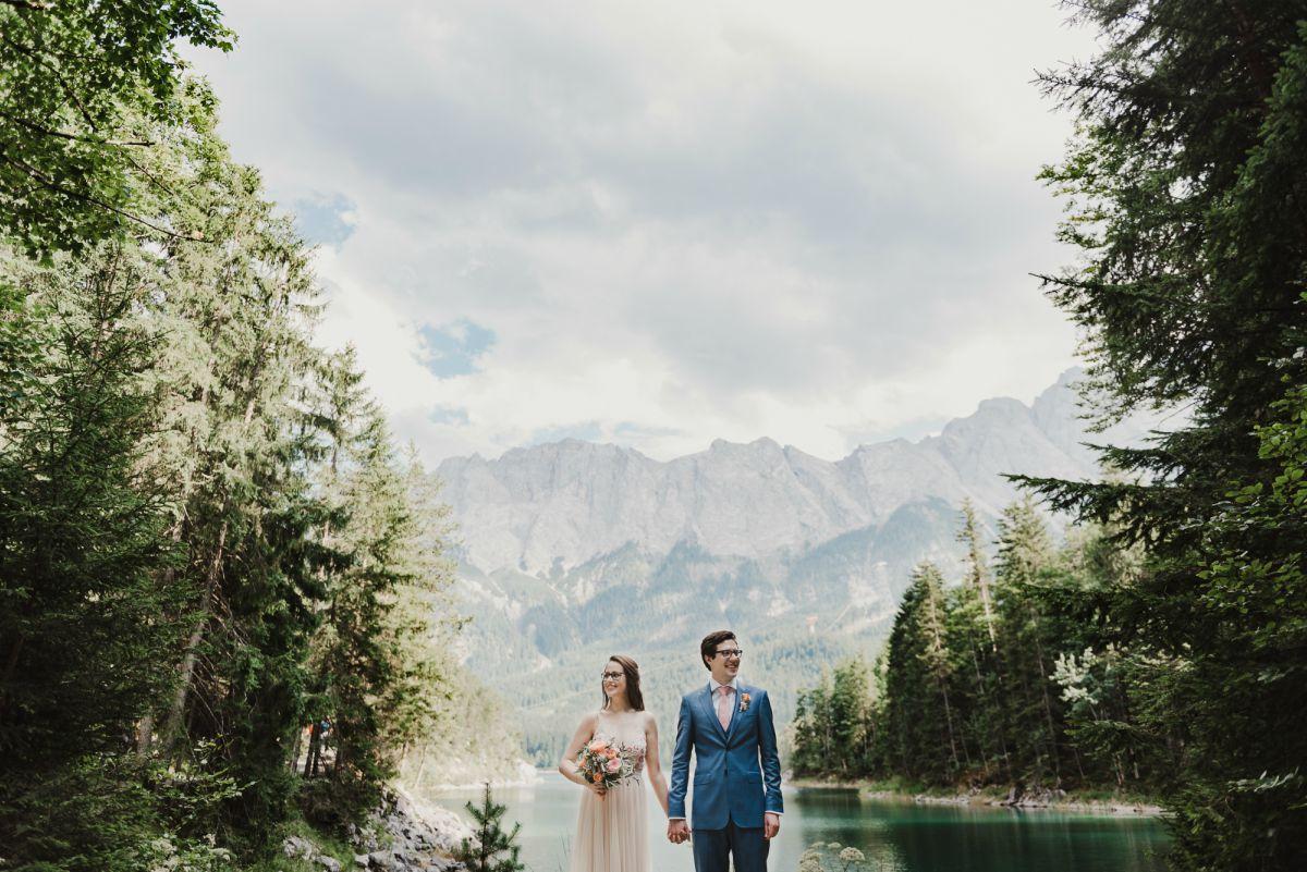 Will patrick photography lakeside eco wedding